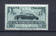 FRANCOBOLLI 1951 REPUBBLICA AUTO L. 20 MNH D/9561