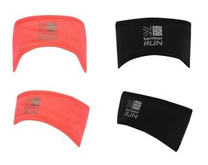 Karrimor Running Headband Ladies Jogging Sweatband Black Coral