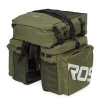Roswheel 37L Waterproof 3 in 1 Cycling Bike Bicycle Rear Rack Pannier Seat Bag