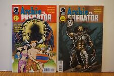 ARCHIE vs PREDATOR # 1 Comic VARIANT Cover A & B~ BLOODY! Riverdale Veronica