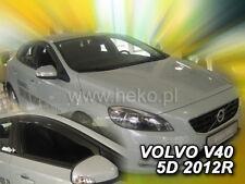 VOLVO V 40/Deflettori D aria Deflettore pioggia set anteriore 2/TLG AB 2013