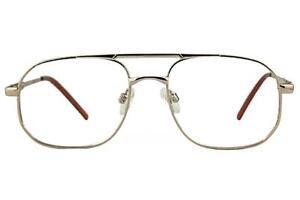 Saturn-D Thin Double-Bar Pilot Glasses Frames With Prescription Lenses 52-17-140