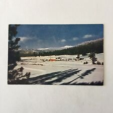 Winter in the West Reproduction  Mike Roberts Kodachrome Unposted Postcard