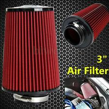 3'' inch High Flow Car Truck Racing Cold Air Intake Filters Cone Tapered Cleaner
