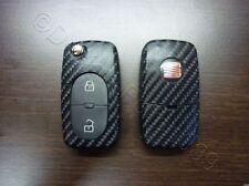 Carbon negro brillo decoración clave Seat Leon Golf Passat VW Bora polo Skoda