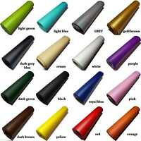 130 cm mini roll  PVC grained LEATHERETTE Fabric craft die cut  fake leather
