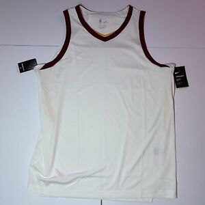 Nike NBA Aeroswift Cavaliers Size 56 XXL Lebron James Blank Jersey AH9337-100