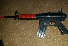 """Machine Guns Military Soldier M-16 CONCUSS Toy Rifle w/ LIGHTS Sound - 25"""" X 2"""""""""""