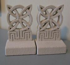 Celtic Knot - Star Pattern - Stone Bookends ~ Forde Crafts Ltd ~ Made in Ireland