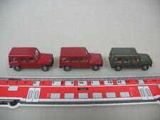 H362-0,5# 3x WIKING H0 266 Mercedes-Benz MB, 230, NEUW