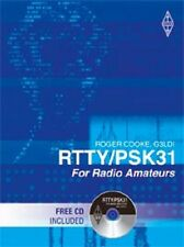 RTTY / PSK31 Data Mode Book for Radio Amateur Ham with CD