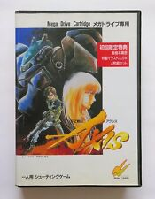 FZ SENKI AXIS Final Zone [ Wolf Team ] Sega Mega Drive Japan