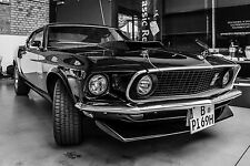 SUPERB MUSTANG AMERICAN MUSCLE CAR CANVAS #549 QUALITY PICTURE WALL ART A1