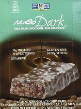 NUGO, Bar Box Dark Mint Chocolate Chip 12 Count, 1.76 Ounce