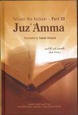 Tafseer Ibn Katheer Juz' 'Amma: Part 30 of the Qur'an