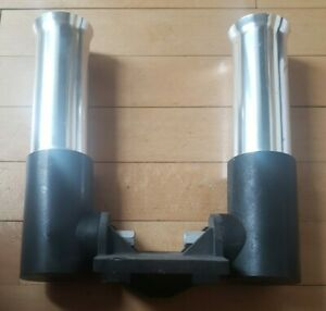Walker downrigger Dual Rod Holder