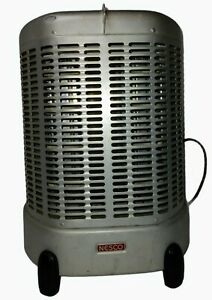 """ANTIQUE """"NESCO"""" ELECTRIC HEATER, MODEL NO. 63, 115 VOLTS, 1250 WATTS USA WORKS"""