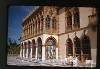 1962 kodachrome photo slide Ringling home Museum Sarasota   Fl  FL21