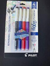 Black 12144 Pilot FriXion Fineliner Erasable Marker Pen Choose Quantity 0.6mm