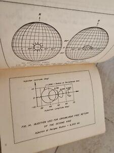 Original NASA Apollo Mission Era Report Trajectories In Earth Moon Space