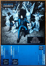 Jack White Lazaretto Ltd Ed Discontinued New Rare Poster! Thrid Man Records