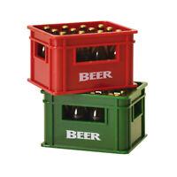 Flaschenöffner Bierkiste mit Magnet Bieröffner Bierkasten Kapselheber Bier