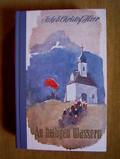"""""""Sacred Waters – novel from the Swiss mountains"""" by J. C. Army"""