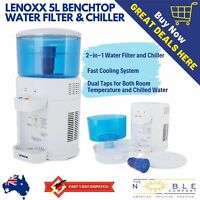 5L Home Water Cooler Chiller Office Bench Filtered Table Top Water Dispenser