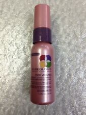 Pureology Colorcare Pure Volume Instant Levitation Mist Spray 1oz Travel Sample
