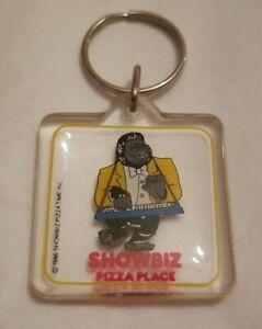 VINTAGE Showbiz Pizza  Keychain 1986