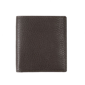 Tom Ford Mid-Size Olive Pebble Grained Leather Bi-Fold Wallet NWT