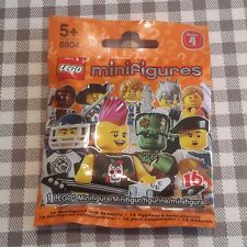 Lego minifigures series 4 unopened factory sealed choose select your minifigure