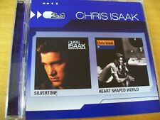 CHRIS ISAAK SILVERTONE/HEART SHAPED WORLD  CD MINT-