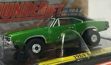 Auto World '69 Dodge Charger, Green, ThunderJet Ultra G Chassis - New in Cube