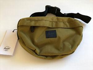 New Herschel Supply Fanny Pack Sport Active Travel Bag Sack Designer Khaki Gree