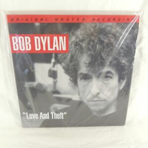 "Bob Dylan - ""Love And Theft"" MFSL MOFI 45 RPM Vinyl Record!"