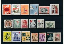 D097749 Yugoslavia Red Cross Nice selection of MNH stamps