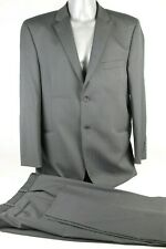 "Men's Daniel Hechter Black Suit Jacket 44"" R Trousers 38"" Waist Wool Lycra"