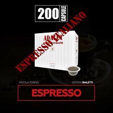 200 capsule compatibili bialetti* caffè torino arabica mokona cuore