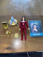 Vintage Playmates Star Trek TNG Counselor Deanna Troi action figure