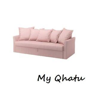 IKEA HOLMSUND Slipcover Cover for sleeper Sofa Ramna Pink 302.995.17 New
