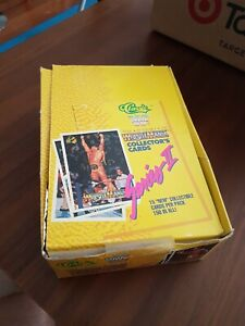 WWE WWF WCW Wrestling 1990 Series 2 Classic Card Box - 30 unopened packets