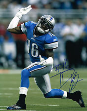 TITUS YOUNG signed 11x14 photo DETROIT LIONS with COA