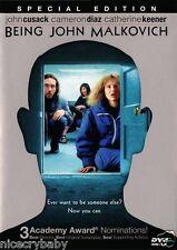 Being John Malkovich (DVD, 2000) Movie Special Edtion Cusak Cameron Diaz Keener
