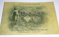 CATALOGUE THONET BROTHERS NEW YORK AUSTRIAN BENT WOOD FURNITURE 1906/1907