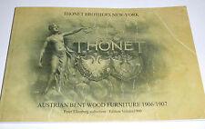 CATALOGUE THONET BROTHERS NEW YORK AUSTRIAN BENT WOOD FURNITURE 1906/1907