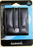 "Genuine Garmin 3.5"" & 4.3"" GPS Camera Phone Case 010-11305-01 Leather-Like *NIB*"