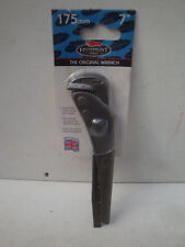 """GENUINE FOOTPRINT THE ORIGINAL PIPE WRENCH 698 7"""" 175MM"""