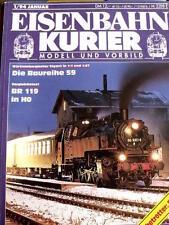 Eisenbahn Kurier n°1 1994 -  Die Baureihe 59 - Br 119 in H0 - Tr.20