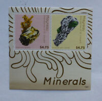 2013 St VINCENT & GRENADINES MAYREAU MINERALS MINI SHEET